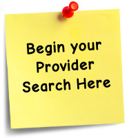 Begin Your Provider Search Here